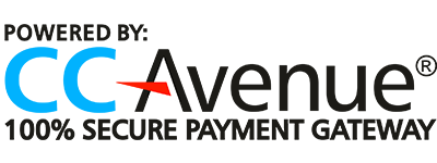 CCAVENUE - 100% SECURE PAYMENT