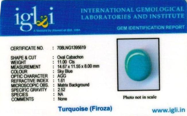12.25-ratti-certified-agate-firoza-stone Certificate (ID-144)