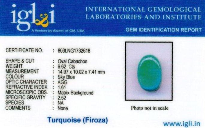 11-ratti-certified-turquoise-firoza-stone Certificate (ID-140)