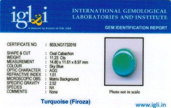 12.25-ratti-certified-turquoise-firoza-stone Certificate (ID-116)