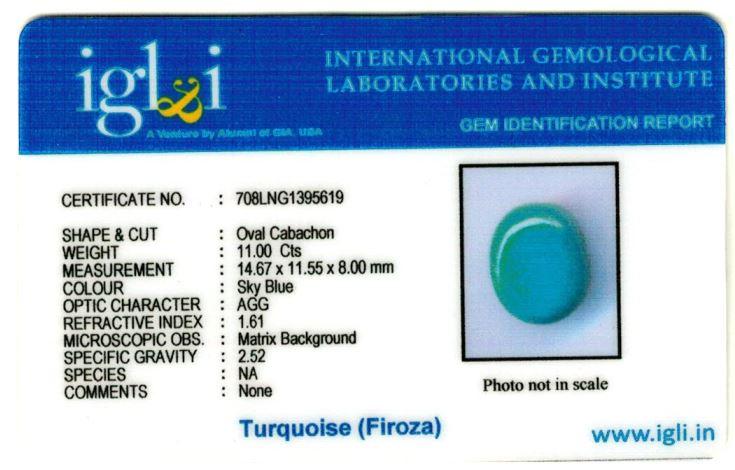 12.25-ratti-certified-turquoise-firoza-stone Certificate (ID-154)