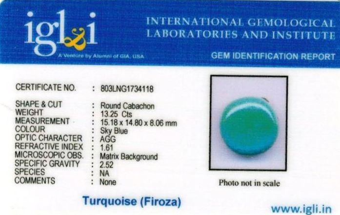 15-ratti-certified-turquoise-firoza-stone Certificate (ID-125)