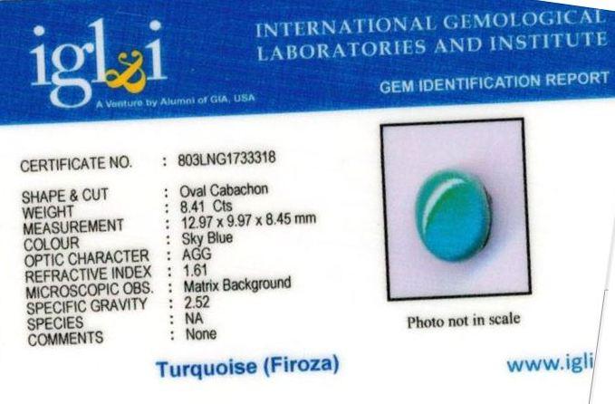 9.25-ratti-certified-turquoise-firoza-stone Certificate (ID-137)