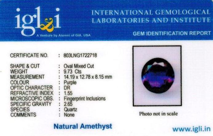 11-ratti-certified-amethyst-jamunia-stone Certificate (ID-157)
