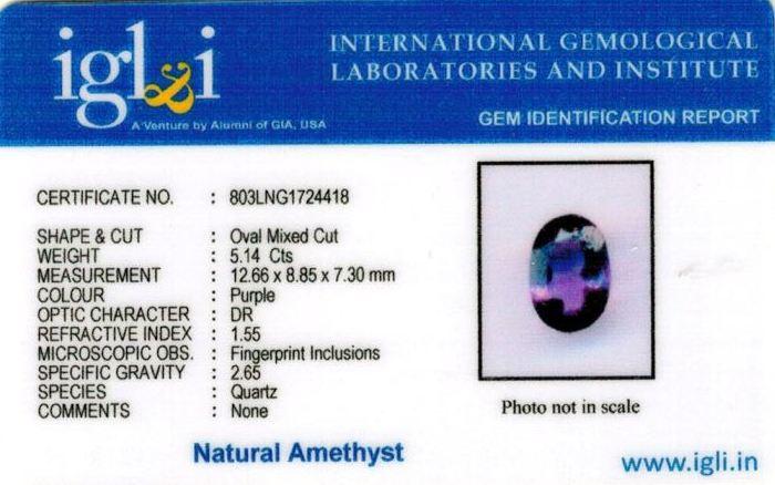 6-ratti-certified-amethyst-jamunia-stone Certificate (ID-128)