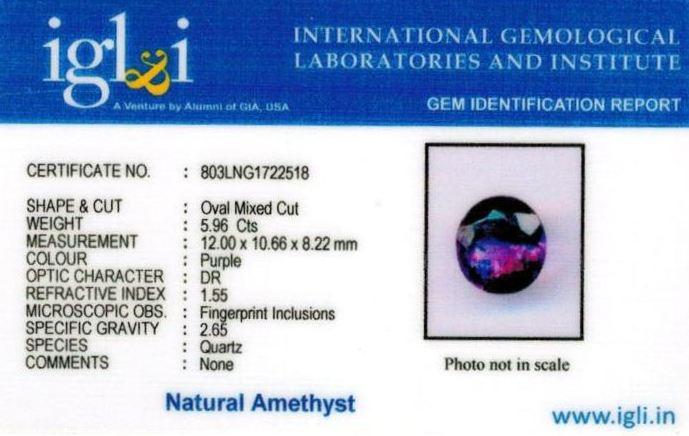 7-ratti-certified-amethyst-jamunia-stone Certificate (ID-136)