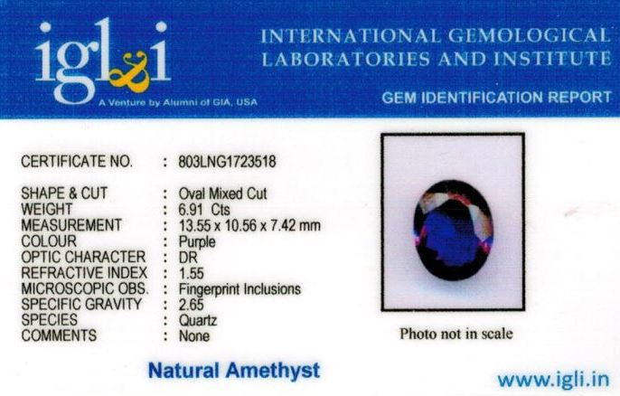 8-ratti-certified-amethyst-jamunia-stone Certificate (ID-144)