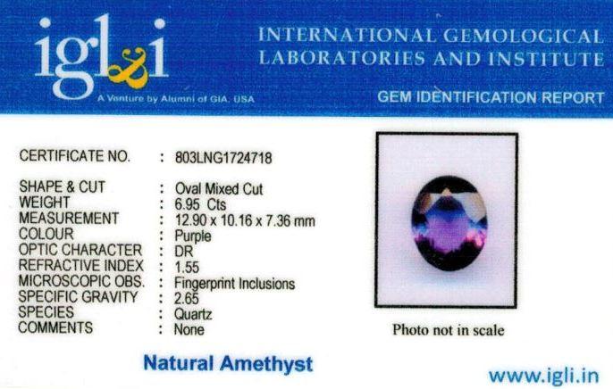 8-ratti-certified-amethyst-jamunia-stone Certificate (ID-146)