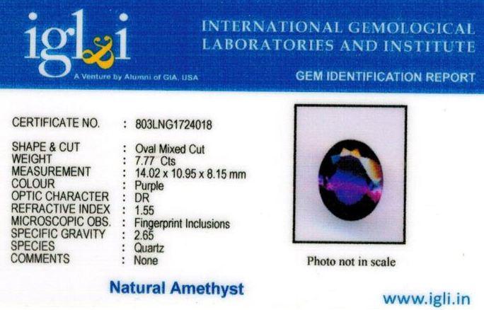 9-ratti-certified-amethyst-jamunia-stone Certificate (ID-150)