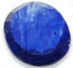 Buy 8 Carat Natural Blue Sapphire (Neelam) IGLI Certified