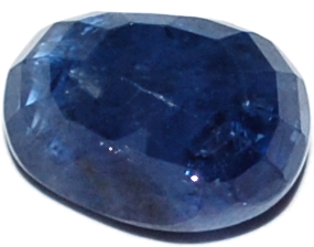 6.1 Carat Certified Blue Sapphire Stone