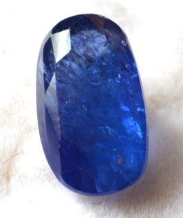 Buy 7 Carat Natural Blue Sapphire (Neelam) IGLI Certified