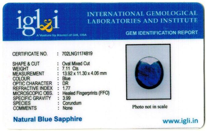 7.9-ratti-certified-blue-sapphire-gemstone Certificate (ID-344)