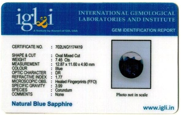 8.28-ratti-certified-blue-sapphire-gemstone Certificate (ID-345)