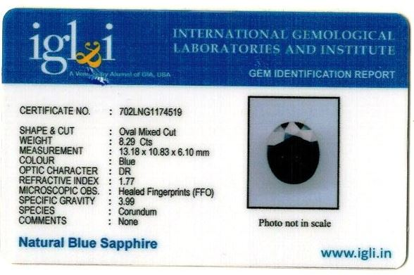 9.21-ratti-certified-blue-sapphire-gemstone Certificate (ID-347)