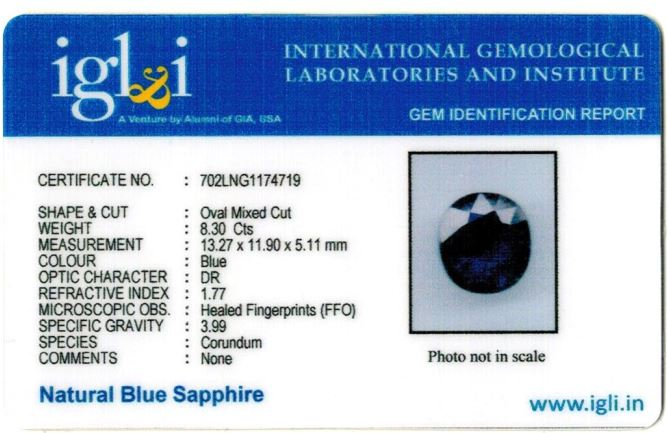 9.22-ratti-certified-blue-sapphire-gemstone Certificate (ID-348)