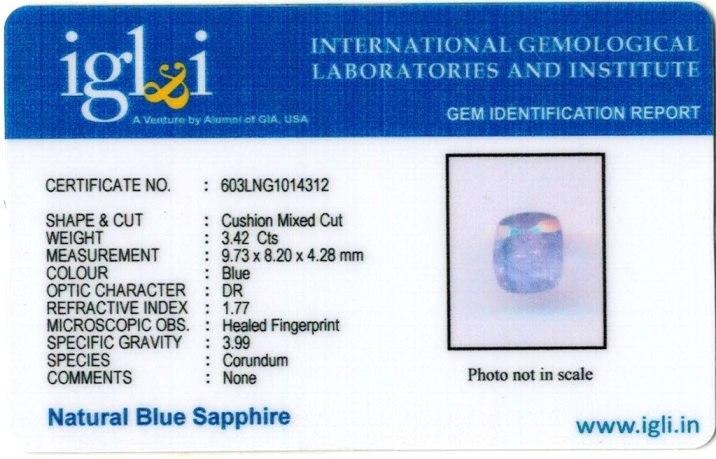 3.8-ratti-certified-blue-sapphire-gemstone Certificate (ID-310)