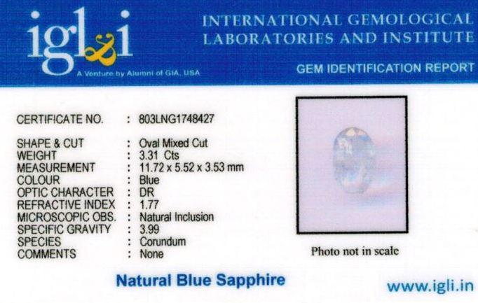 4-ratti-certified-blue-sapphire-stone Certificate (ID-369)