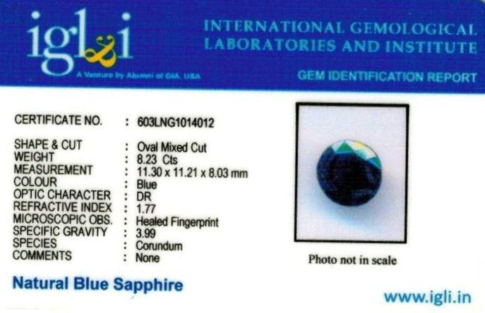 9.25-ratti-certified-blue-sapphire-stone Certificate (ID-392)