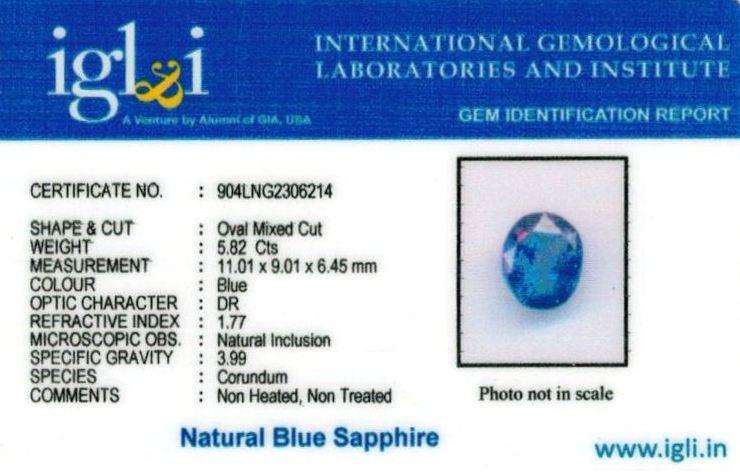 6.25-ratti-certified-srilankan-blue-sapphire Certificate (ID-414)