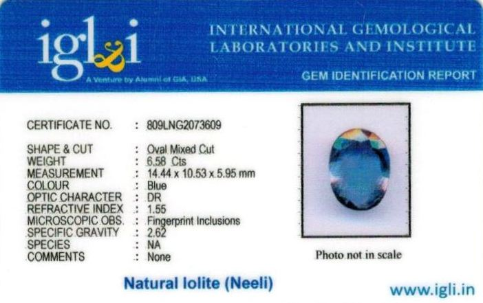 7.25-ratti-certified-iolite-neeli Certificate (ID-116)