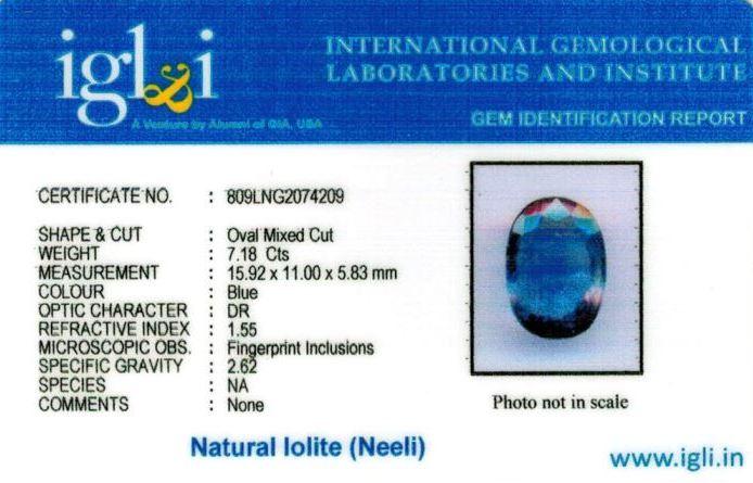 8-ratti-certified-iolite-neeli Certificate (ID-120)