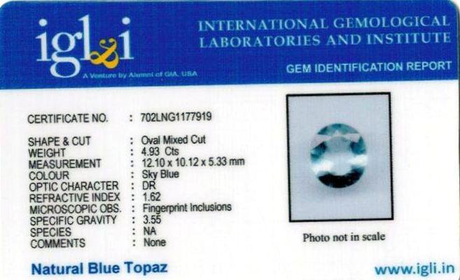 5.48-ratti-certified-blue-topaz-stone Certificate (ID-101)