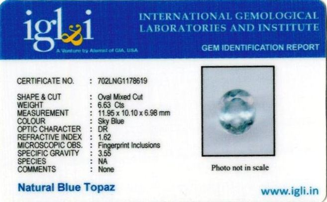 7.37-ratti-certified-blue-topaz-stone Certificate (ID-107)