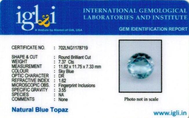 8.19-ratti-certified-blue-topaz-stone Certificate (ID-108)