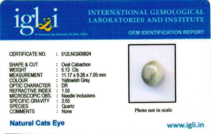 5.56-ratti-certified-cateye-gemstone Certificate (ID-101)