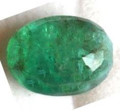 Buy 6 Carat Natural Emerald (Panna) IGLI Certified
