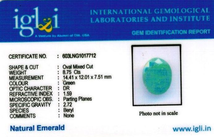 10-ratti-certified-emerald-gemstone Certificate (ID-360)