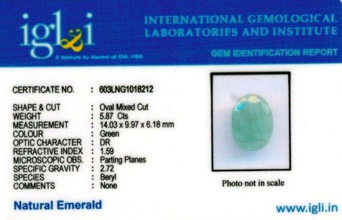 7-ratti-certified-emerald-gemstone Certificate (ID-355)
