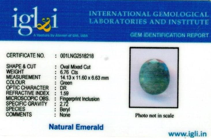 10-ratti-certified-emerald-gemstone Certificate (ID-370)