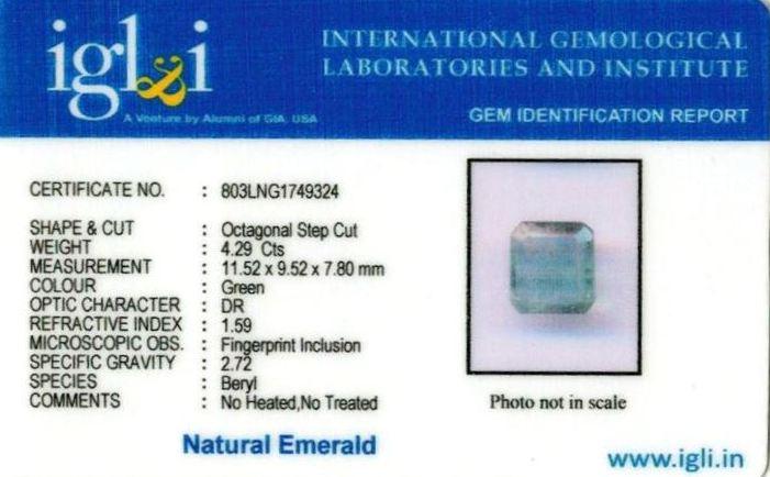 5-ratti-certified-emerald-gemstone Certificate (ID-363)