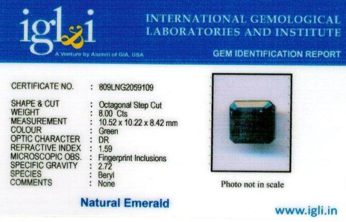9-ratti-certified-emerald-gemstone Certificate (ID-380)