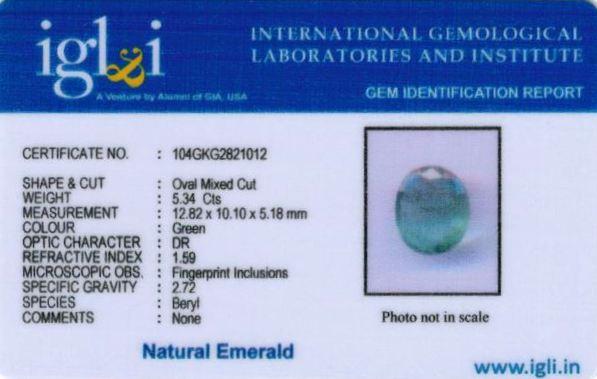 6-ratti-certified-emerald Certificate (ID-439)