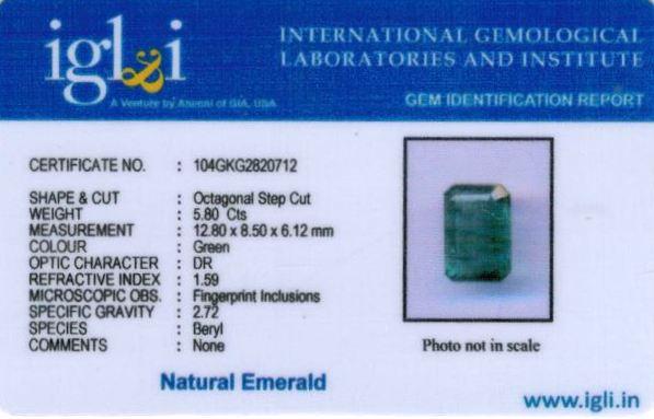6.25-ratti-certified-emerald Certificate (ID-443)