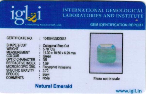 6.25-ratti-certified-emerald Certificate (ID-442)