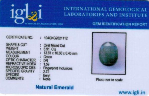 8-ratti-certified-emerald Certificate (ID-447)