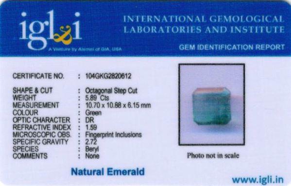7-ratti-certified-emerald Certificate (ID-444)