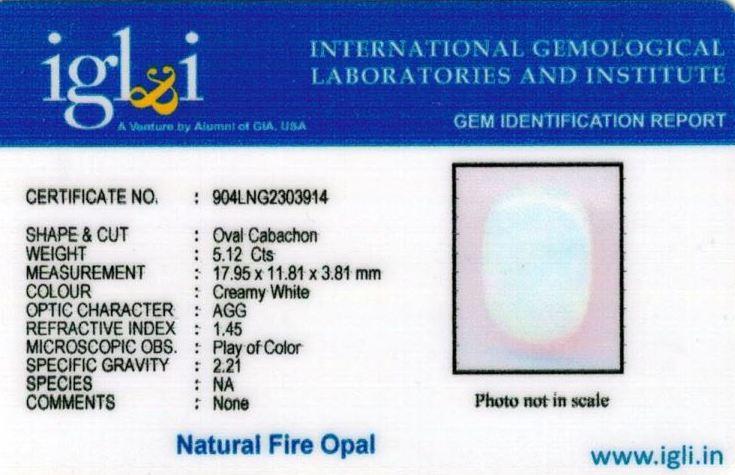 6-ratti-certified-fire-opal Certificate (ID-210)