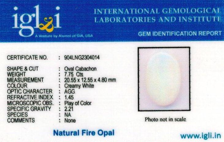 9-ratti-certified-fire-opal Certificate (ID-214)