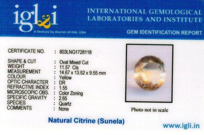 13-ratti-certified-citrine-sunela-Stone Certificate (ID-115)