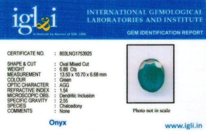 8-ratti-certified-greenonyx-stone Certificate (ID-117)