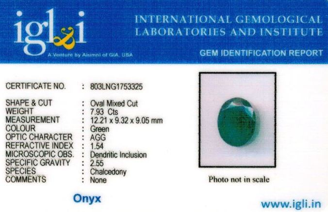 9-ratti-certified-greenonyx-stone Certificate (ID-123)