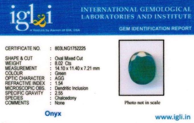 9-ratti-certified-greenonyx-stone Certificate (ID-126)