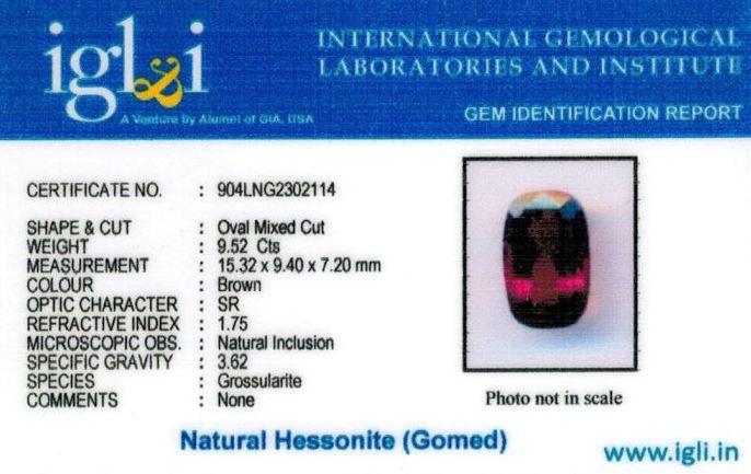 11-ratti-certified-hessonite Certificate (ID-329)