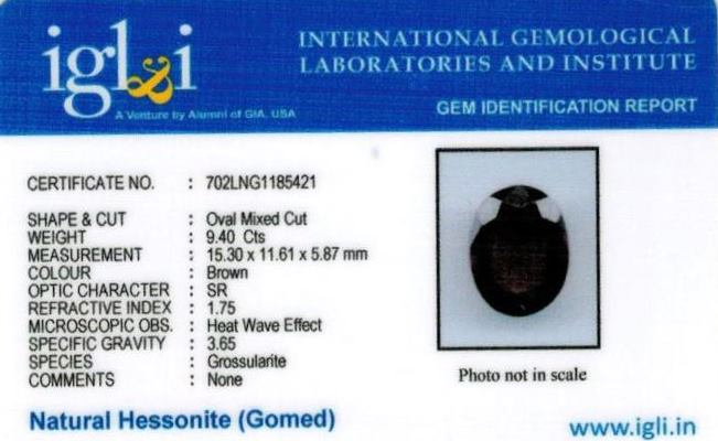 10.44-ratti-certified-hessonite-gomed-stone Certificate (ID-137)
