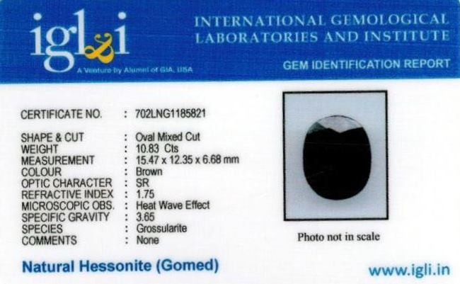 12.03-ratti-certified-hessonite-gomed-stone Certificate (ID-118)
